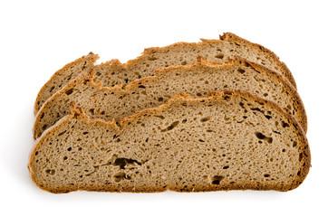 Drei Scheiben Schwarzwälder Brot