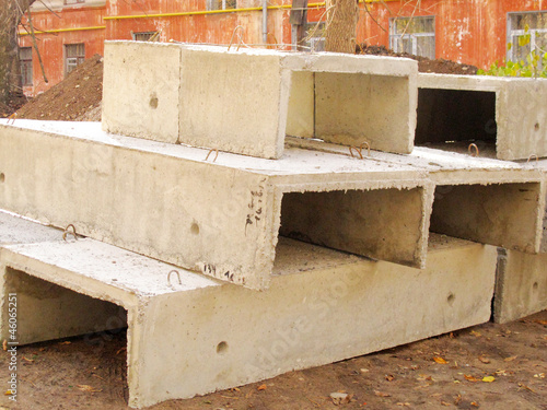 U-shaped reinforced concrete plate coverings
