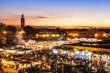 Marrakesch, Djemaa el Fna, Marokko - 46065883