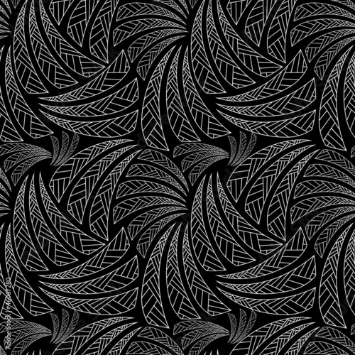 Ethnic seamless pattern, background