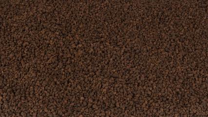 Granular tea as texture