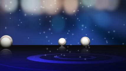 Baseball Balls and News Text - HD1080