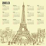 eifel calendar poster
