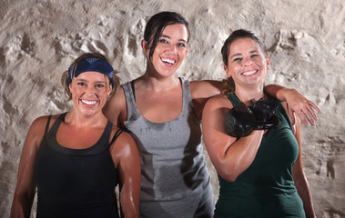 Three Sweaty Boot Camp Workout Women