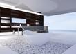Exclusive Luxury Bathroom Interior by the sea