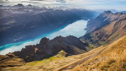 Bernese Alps and Lake Brienz