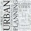 Urban geography Discipline Study Concept