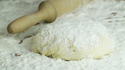 preparation of dough
