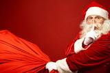 Fototapety Santa coming