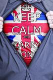 Keep Calm Businessman poster