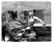 Beautiful antique Greek Hero - Death