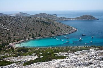 Croazia, caletta alle isole kornati