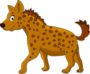 Hyena cartoon