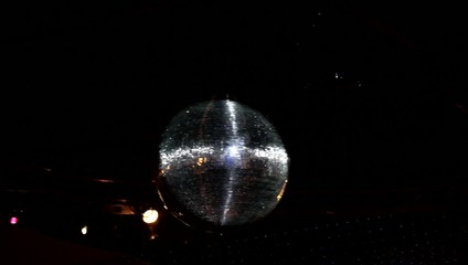 Disco ball and lights