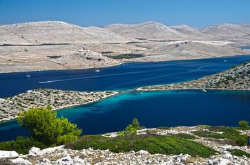 Croazia, panorama delle isole Kornati 4