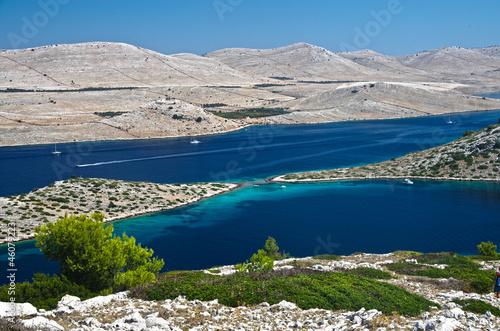 Croazia, panorama delle isole Kornati 4 - 46079223
