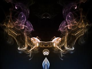 Formas con humo