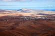 Leinwanddruck Bild - central Fuerteventura, view from El Pinar