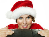 Miss santa is happy with her new high performance tyre