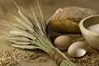 Homemade bread ingredients