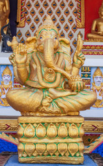 The Indian God Ganesha statue