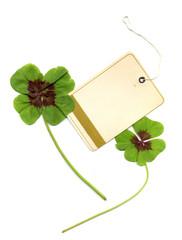 Kleeblätter Glückskarte