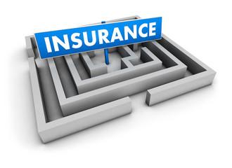 Insurance Labyrinth Concept