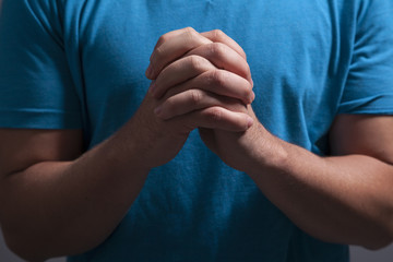 Clasped Praying Hands