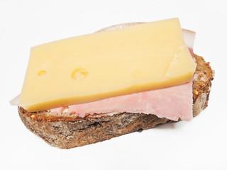 Schinken-Käse-Stulle