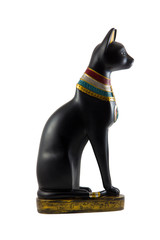 Egyptian cat statuette