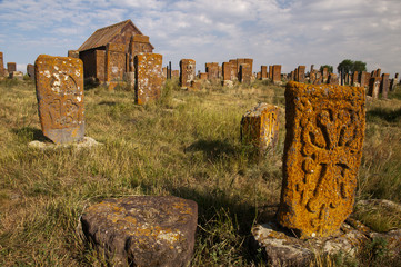 The cemetery of Noratus, Armenia