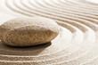 zen curves in sand