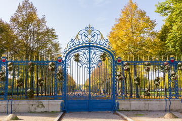 Porte vers l'automne