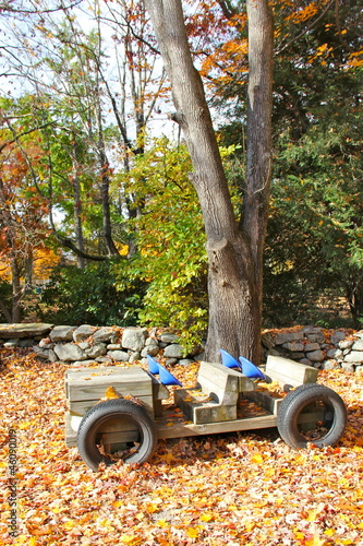 Playground Wooden Car