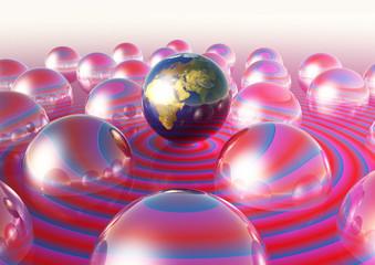 Mondo terra centro egocentrismo
