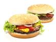 Hamburger & Cheeseburger