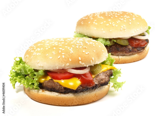 Hamburger & Cheeseburger