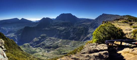 Panorama du Cirque de Mafate - La Réunion