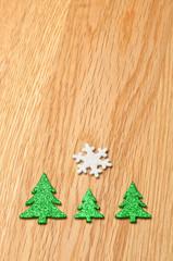 Weihnachtsschmuck/Holz