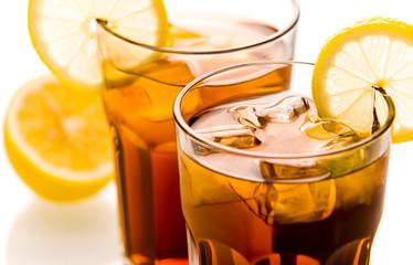 Cocktail Long Island Ice tea close up
