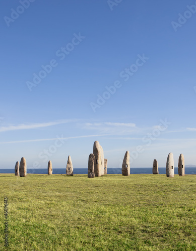 Menhirs Park at coruna