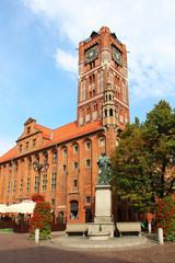 Town hall, Torun old town, Poland