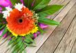 Gerbera, Blumenstrauß, Alles Liebe zum Muttertag