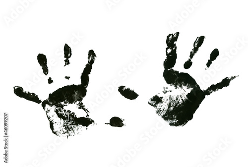 Kids print hand