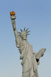 Statue of liberty imitation