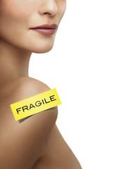 Femme et Beauté Fragile