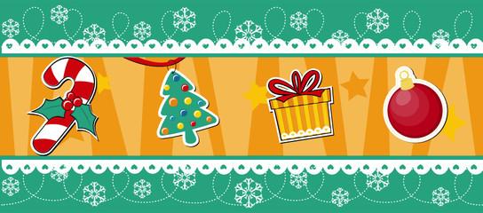 christmas banner decoration