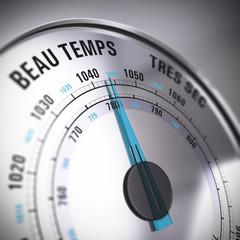 baromètre, météo, beau temps, météorologie
