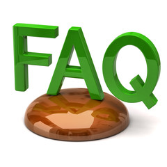 Illustration of FAQ icon