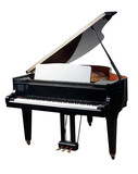 The grand Piano for playing in the orchestra band